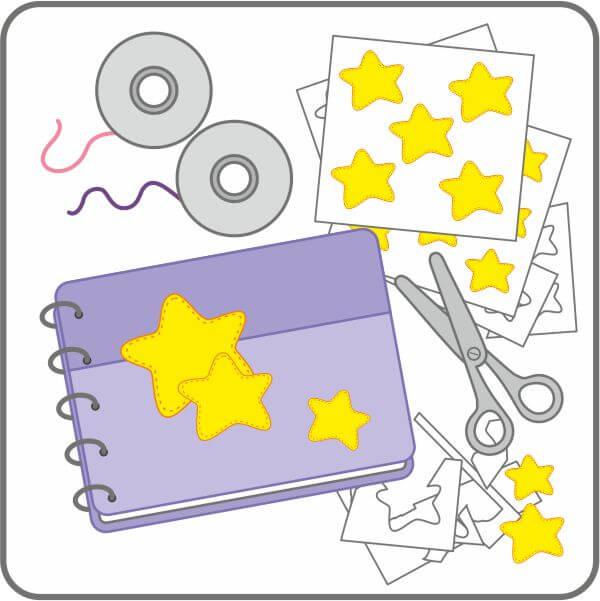 Papelería para scrapbooking - Imprimibles | Los Dibujos de Patricia